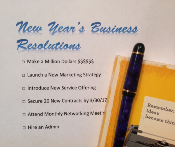 New Year's Business Resolutions